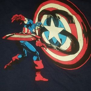 Stussy marvel captain america sz.xl
